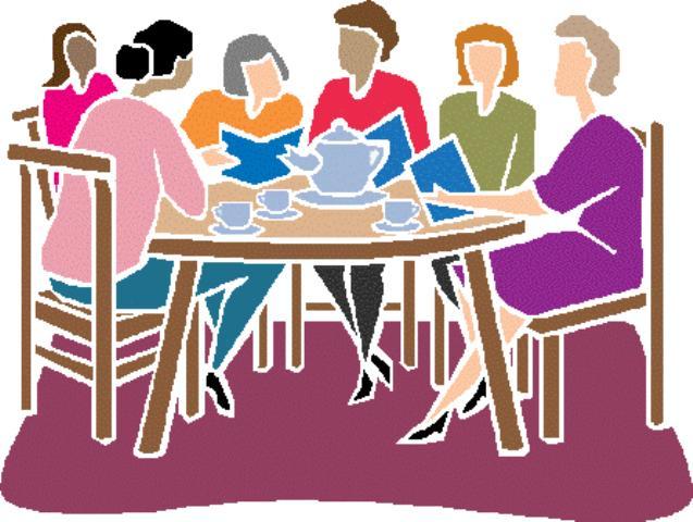 Meeting clipart group woman Women women Cliparts art 80673