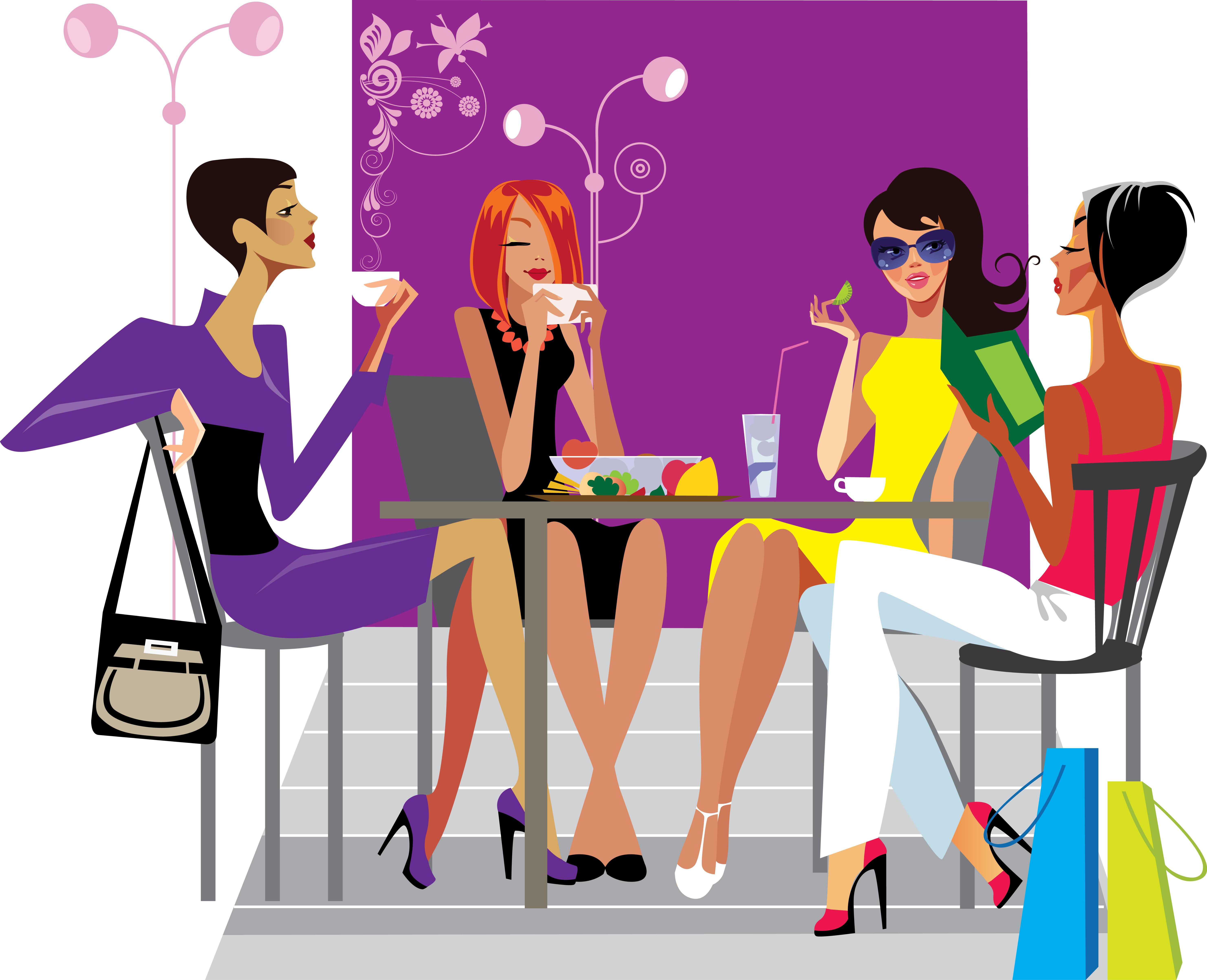 Meeting clipart group woman Women Free Free Art Guelph