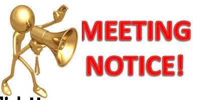 Meeting clipart important Bobcats thM5WHPVC2 2017 OPEN MEETING