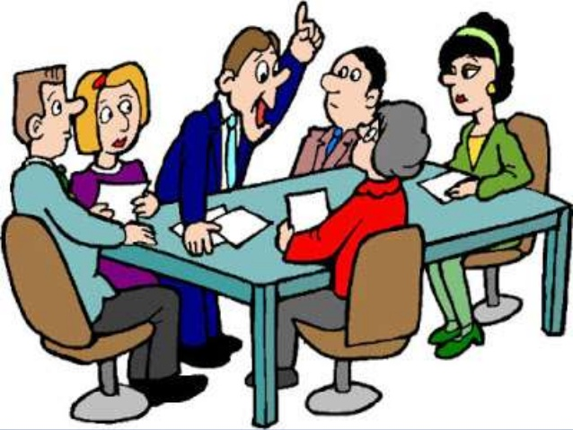Meeting clipart informal communication #2