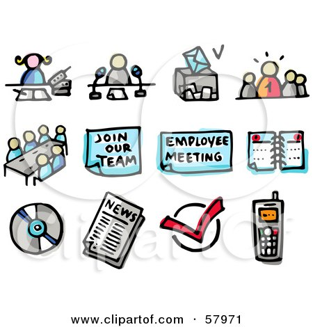 Meeting clipart meeting announcement #13