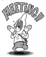 Meeting clipart meeting announcement #3