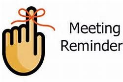 Meeting clipart meeting reminder Clip clip Reminder Free Free