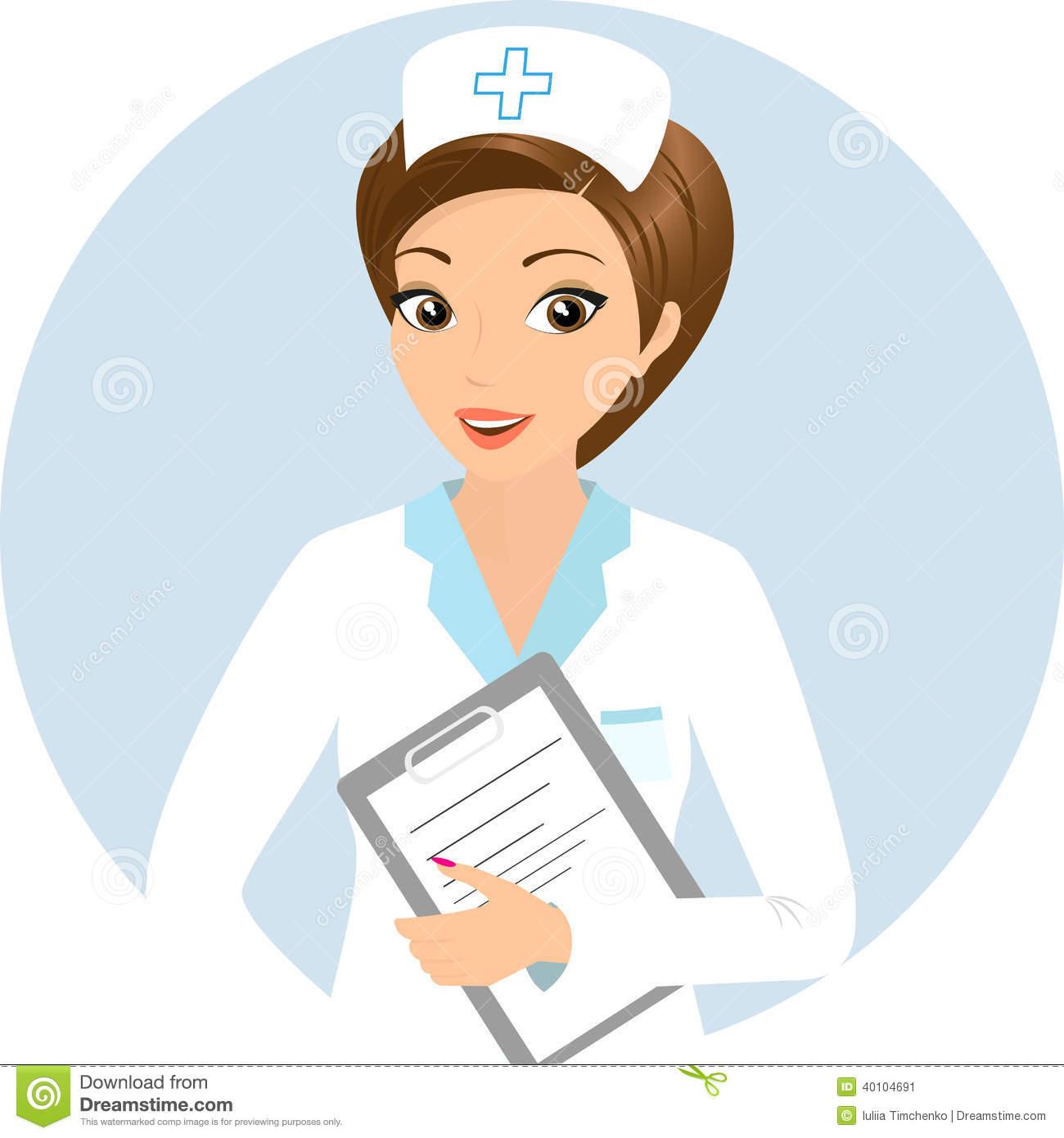 Staff clipart nursing staff Smiling Nurse Nurse Clipart cliparts