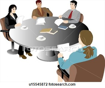 Office clipart office meeting Clip Free Office Panda You