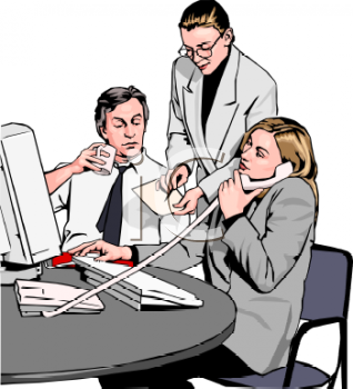 Office clipart office employee Teamwork worker Teamwork clipart worker