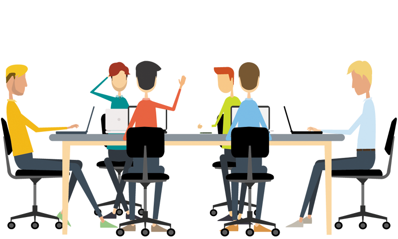 Meeting clipart result discussion People A 1designshop Business A