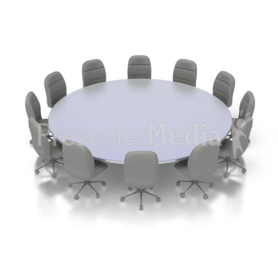 Meeting clipart round table conference Art Table Conference Great Clipart