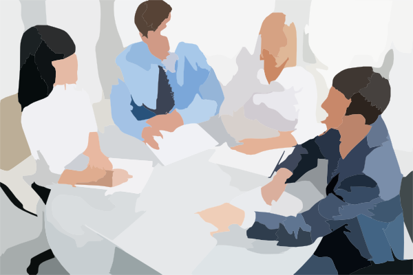 Meeting clipart round table conference Table Free Download Clip Art