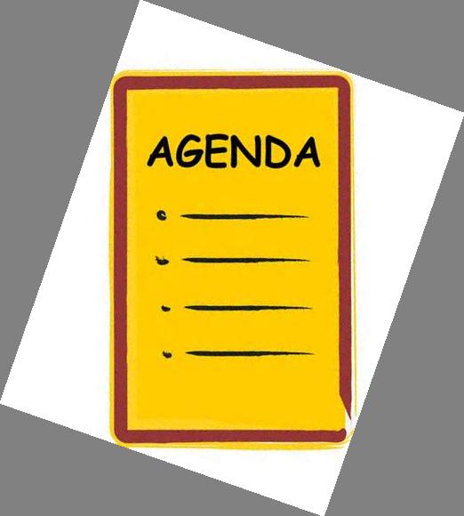 Notice clipart agenda Board meetings Agenda Power Regularly