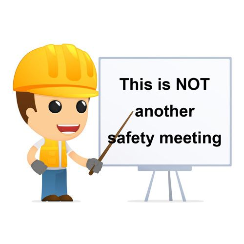 Meeting clipart safety meeting Eye for work tips impact