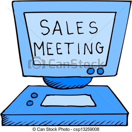 Meeting clipart sales meeting #3