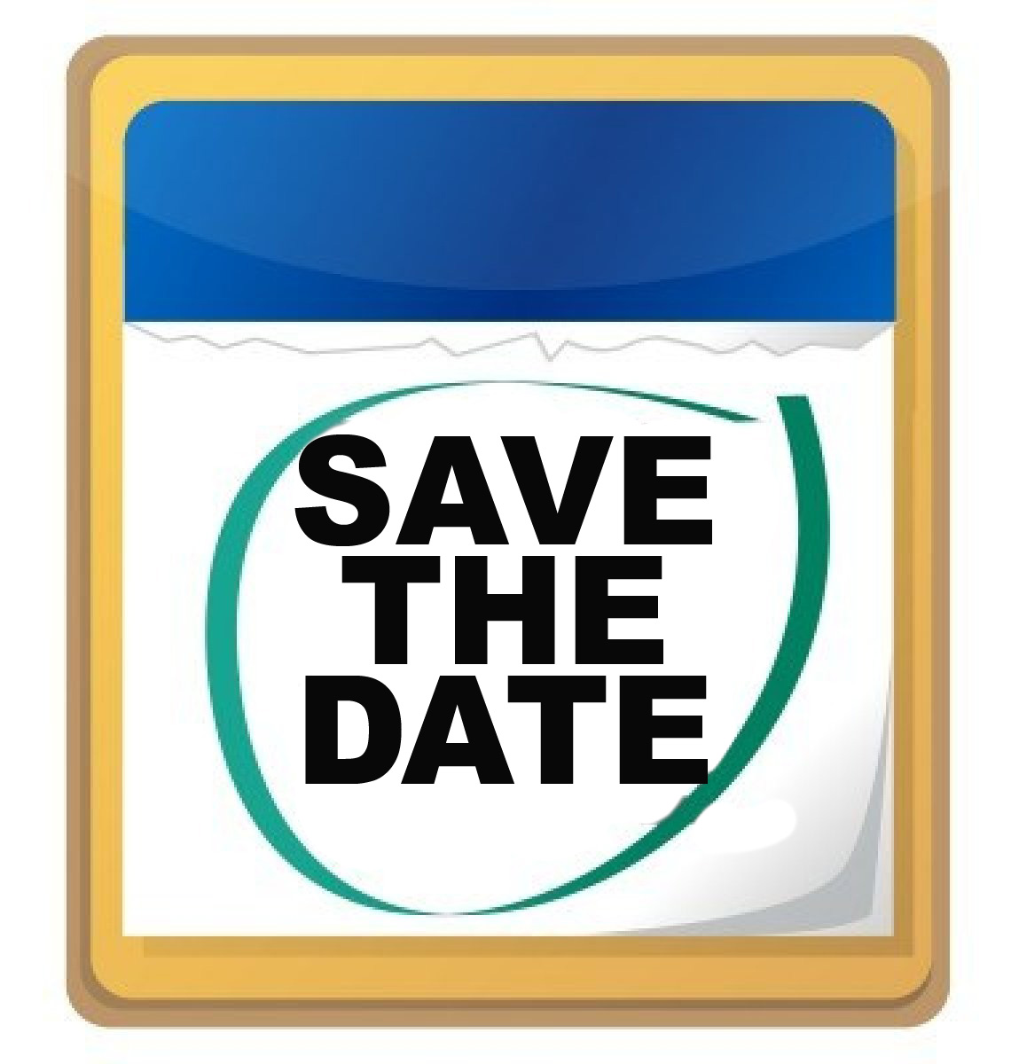 Date clipart upcoming event Save clipart Clipartix clipart Save