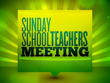 Meeting clipart school meeting Sunday  and Resources Sermon