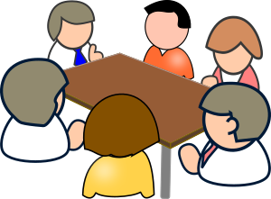 Meeting clipart small group  SMALL IMAGE meeting Clipart