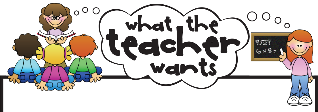 Meeting clipart teacher and student Teacher Wants! Conference  Clipart