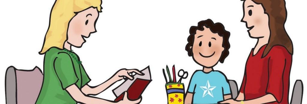 Meeting clipart teacher meeting Conferences Waverly School Parent/Teacher Community