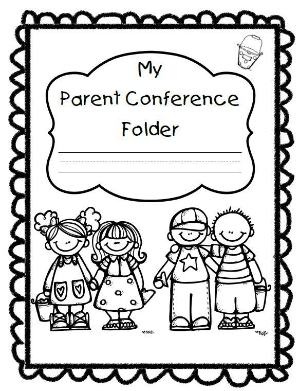 Meeting clipart teacher meeting 159 Teacher Conferences folder conference