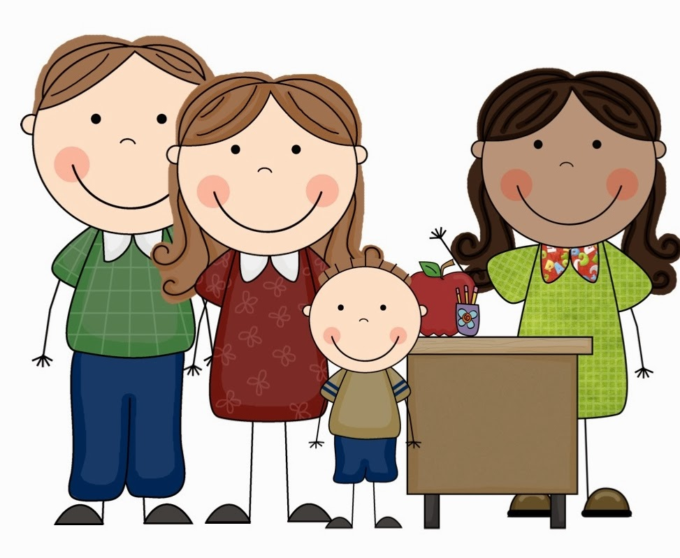 Spanish clipart parent meeting Com Cliparting teacher kid clipart