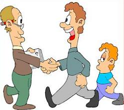 Meeting clipart teacher meeting Student Parent and Conference Teacher