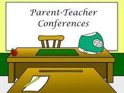 Meeting clipart teacher meeting Parent teacher Teacher Conferences conference