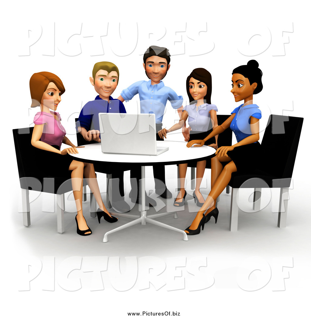 Meeting clipart team Stock Designs of Clipart Meetings