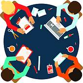 Office clipart office meeting Gear Clip Free Team Meeting