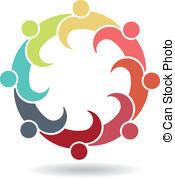 Meeting clipart team Team vector Art Clip Logo