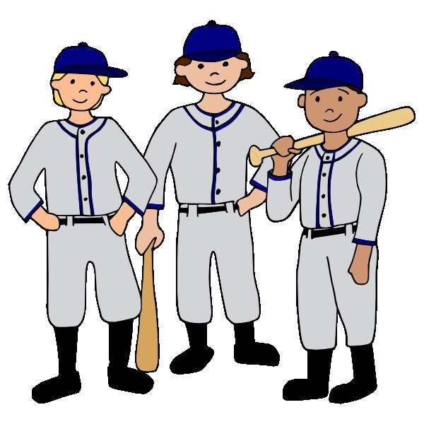 Baseball clipart baseball team On  Free Art Clip