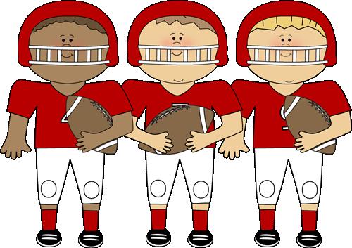 Football clipart cute Football Clipart Clipart Clip Team