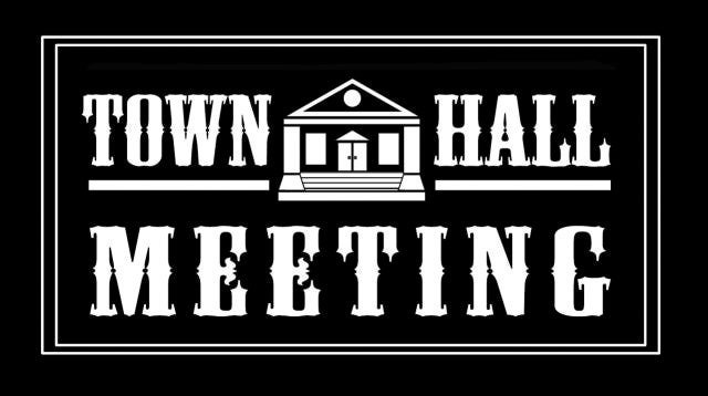 Date clipart town hall meeting Town The Meetings Hall Church: