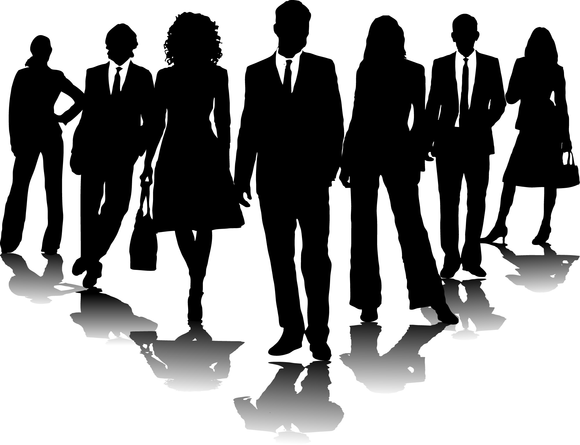 Men clipart transparent Meeting 2 people clip com