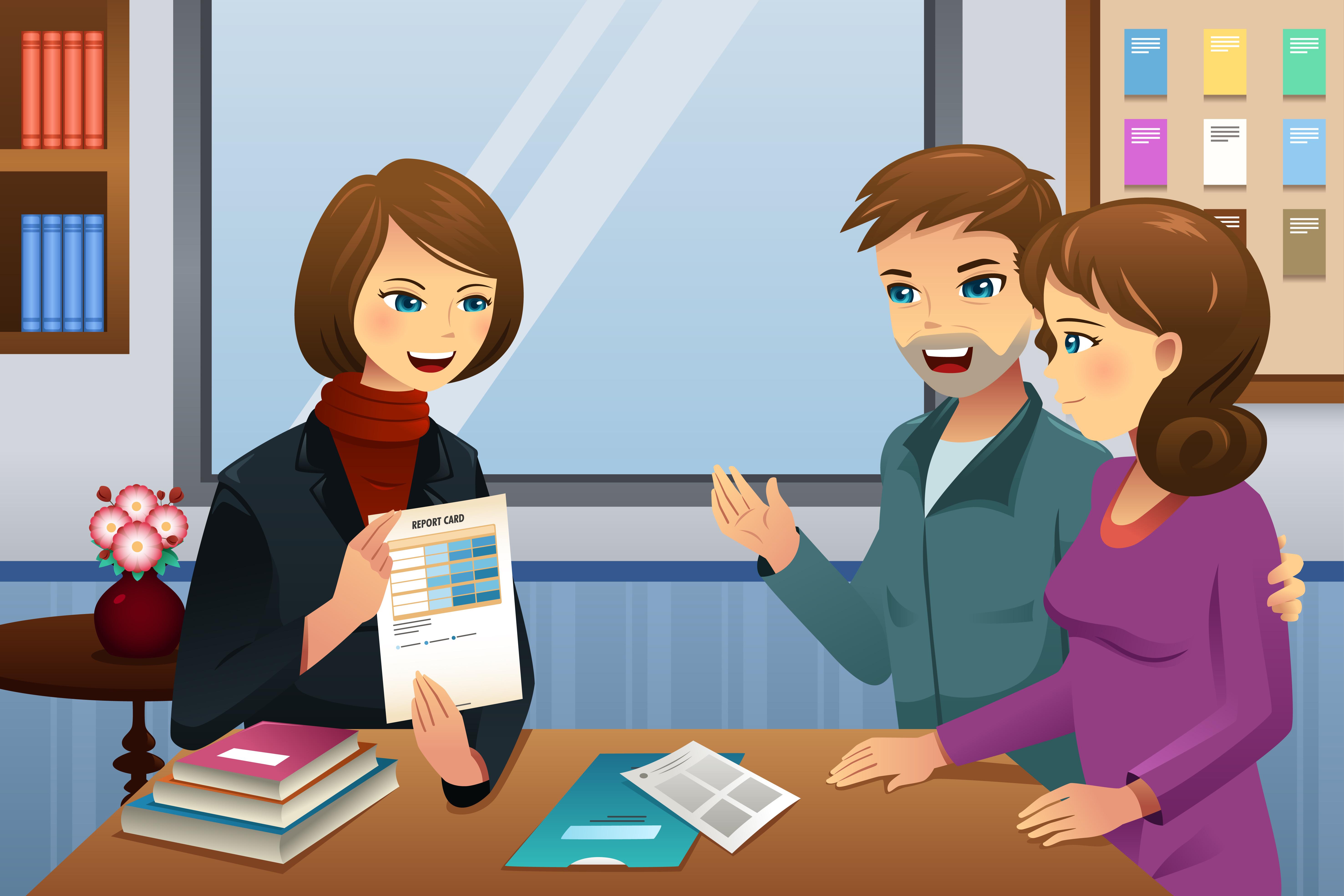 Meeting clipart trust Parent Confidence Build Trust Schools