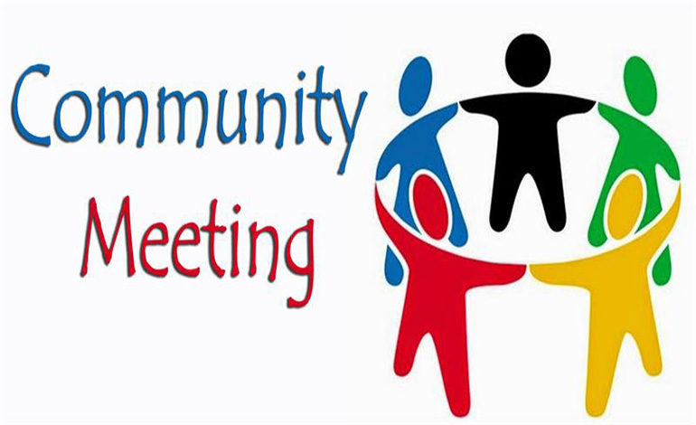 Meeting clipart upcoming event For meeting community Infill Upcoming