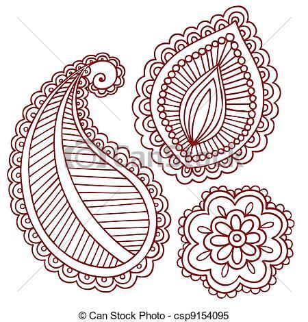 Mehndi clipart Tattoo Vector Vector Doodles Doodles