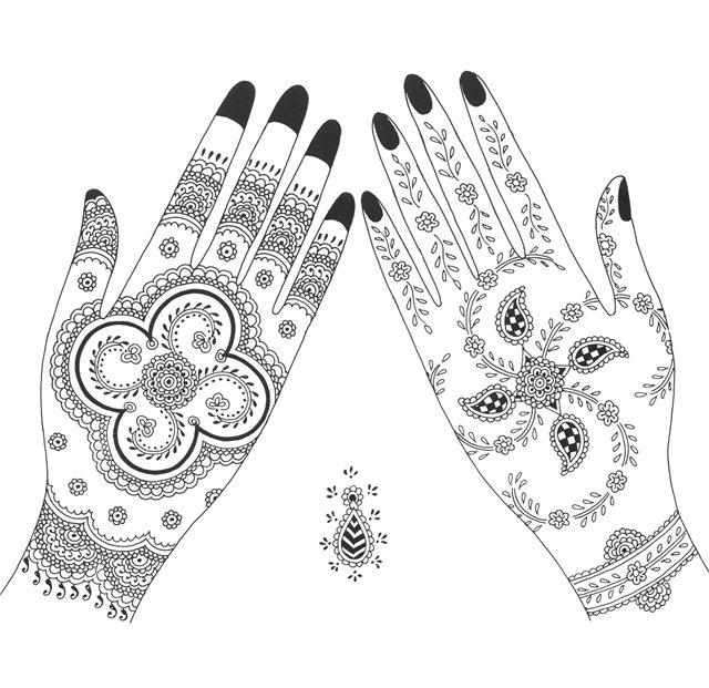 Mehndi clipart bridal mehndi Google Pinterest Buscar tatuajes Google