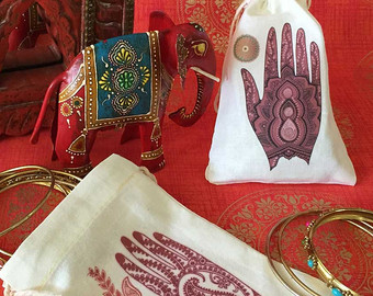 Mehndi clipart function Ceremony Favor Ceremony South Bags