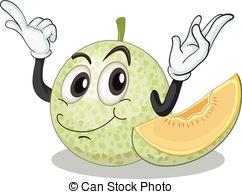 Melon clipart Free  a white 5