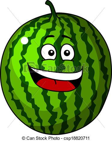 Watermelon clipart happy Refreshing of watermelon Happy