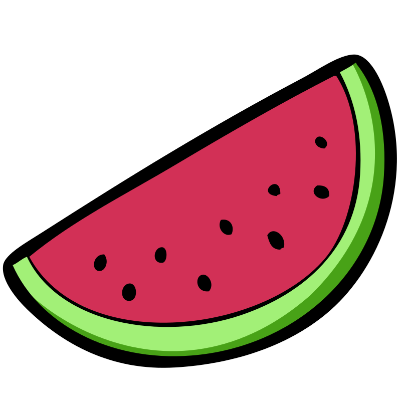 Watermelon clipart transparent background Use Download Clipart Domain Free