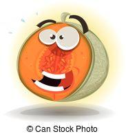 Melon clipart funny Melon a Illustration 742 Character