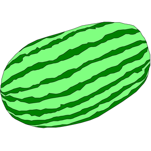 Melon clipart outline Clip free on Art Clip