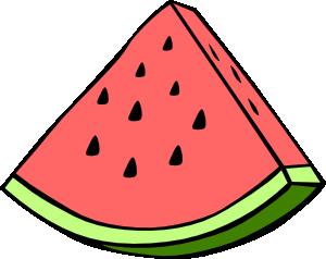 Watermelon clipart outline Online vector Watermelon Clip Watermelon