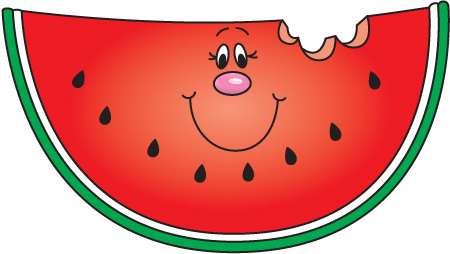 Watermelon clipart happy Clip Clipart A Clipart Safe