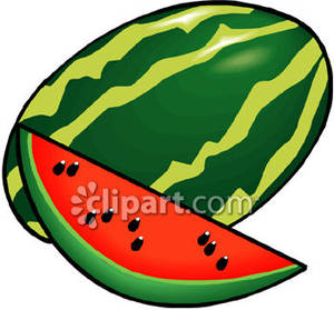 Melon clipart watermelon slice Art Watermelon Art Free Panda