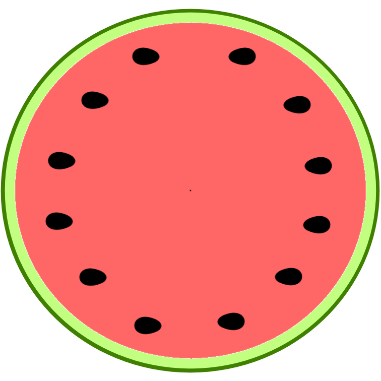 Melon clipart watermelon slice Clipart seedless%20watermelon%20slice%20clipart Watermelon  Seedless