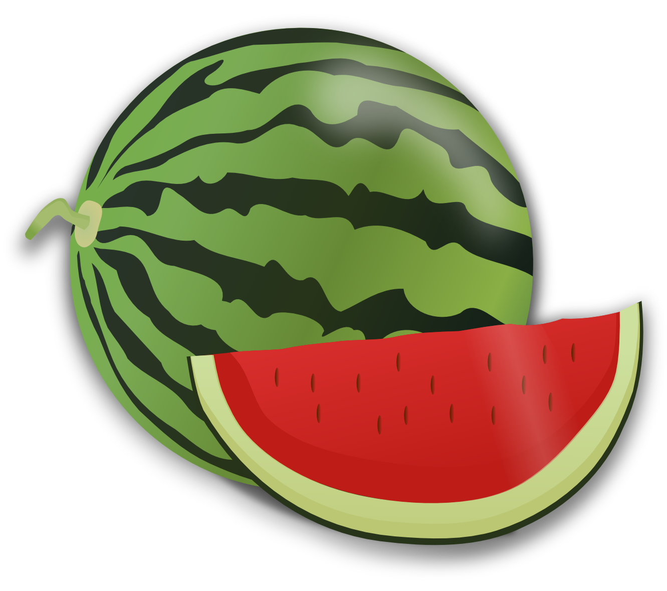 Melon clipart watermelon slice Clipart Watermelon cliparts slice collection