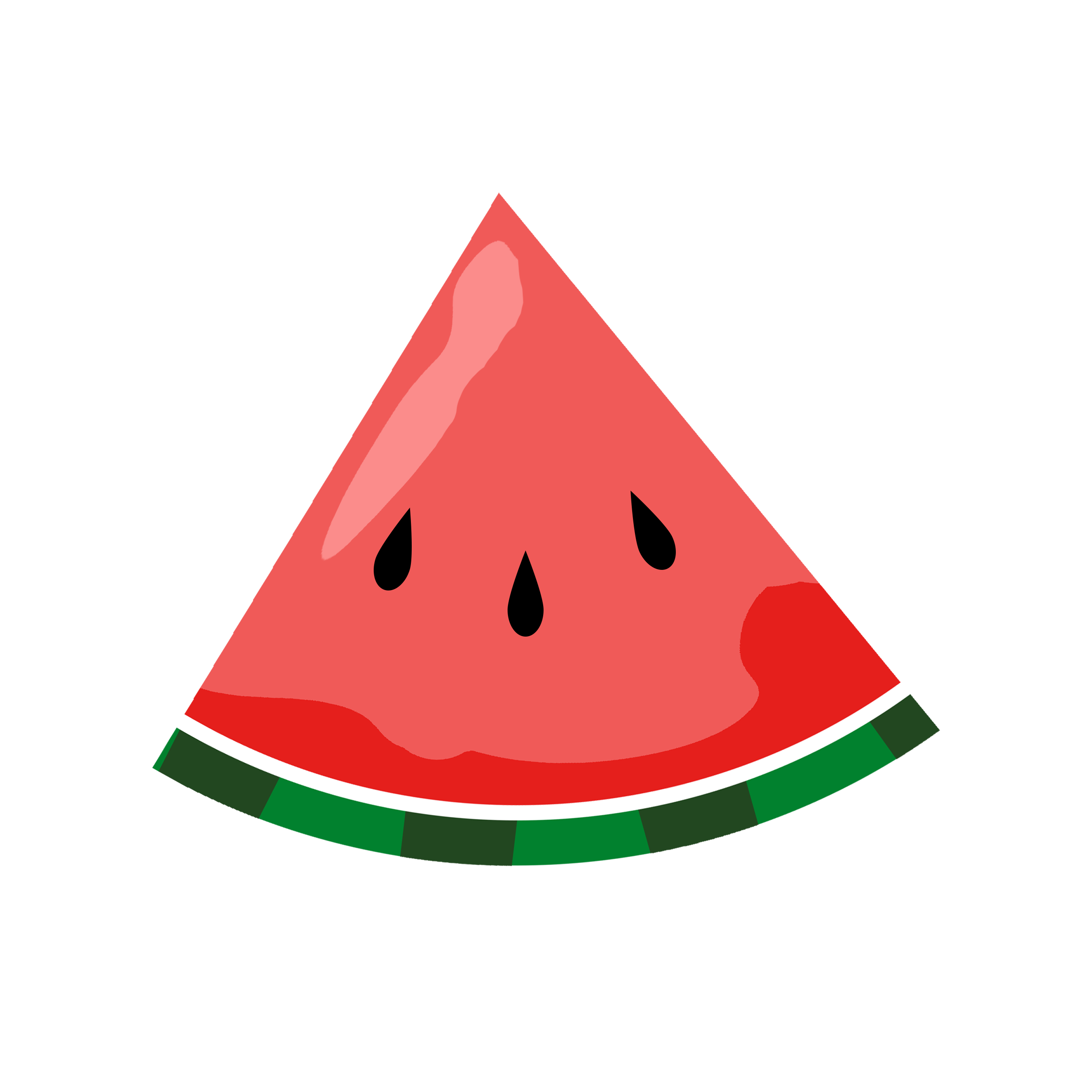 Melon clipart watermelon slice Watermelon Free Slice Watermelon collection