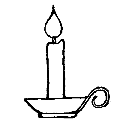 Melting Candle clipart White Clipart  Birthday birthday%20candle%20clip%20art%20black%20and%20white
