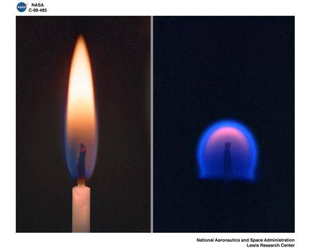 Drawn candle burned With flame do on of